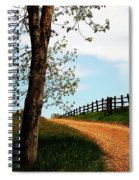 I Walk The Gravel Road Spiral Notebook
