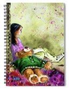 I Want To Lay You Down In A Bed Of Roses Spiral Notebook