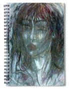 I Wept Out Eyes  Spiral Notebook