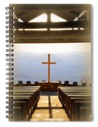I Will Lift My Eyes To The Hills Psalm 121 1 Vertical 2 Spiral Notebook