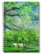 I Will Wait For You In Summer Spiral Notebook