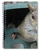 I Would Rather Dine Alone Spiral Notebook