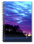 I70 West Ohio Spiral Notebook