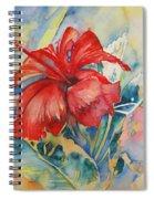 Ibiscus Spiral Notebook