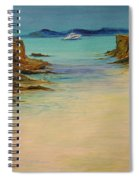 Ibiza In The Distance.... Spiral Notebook