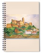 Ibiza Old Town Unesco Site Spiral Notebook