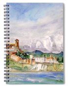 Ibiza Panoramic 02 Spiral Notebook