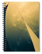 Icarus Journey To The Sun Spiral Notebook