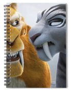 Ice Age Continental Drift Spiral Notebook