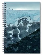 Ice And Rock Spiral Notebook
