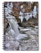 Ice Breaker Spiral Notebook