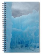 Ice Castles In Lincoln New Hampshire -1 Spiral Notebook