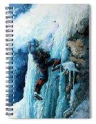Ice Climb Spiral Notebook