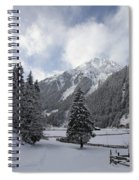 Ice Cold But Beautiul Spiral Notebook