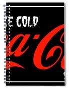 Ice Cold Coke 8 Coca Cola Art Spiral Notebook