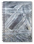 Ice-cold Morning Fantasy Spiral Notebook