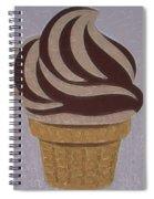 Ice Cream Emoji Spiral Notebook