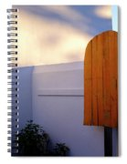 Ice Cream Shop Wooden Popsicle In Saint Augustine Florida Spiral Notebook