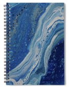 Ice Currents Spiral Notebook