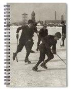 Ice Hockey 1912 Spiral Notebook