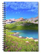 Ice Lakes Basin  Spiral Notebook