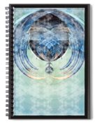 Ice Layered Effect And Framed Spiral Notebook