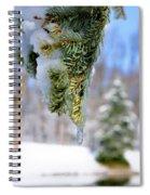 Ice Melt Spiral Notebook
