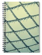 Ice Melting In The Sun Spiral Notebook