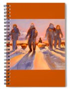Ice Men Come Home Spiral Notebook