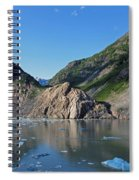 Ice On The Water Spiral Notebook