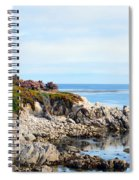 Ice Plant Along The Monterey Shore 2 Spiral Notebook