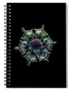 Ice Relief, Black Version Spiral Notebook
