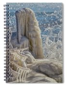 Ice Structures Spiral Notebook