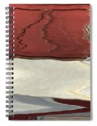 Ice To Earth Abstract Spiral Notebook