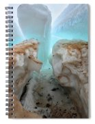 Ice Tooth Spiral Notebook