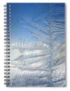 Ice Tree Spiral Notebook