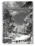 Ice Water Spiral Notebook