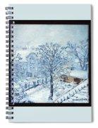Ice White Spiral Notebook