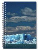 Iceberg In Viedma Lake - Patagonia Spiral Notebook