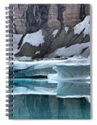 Iceberg Lake Icebergs Spiral Notebook
