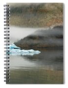 Iceberg Reflections Spiral Notebook