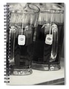 Iced Tea In Pitchers Spiral Notebook