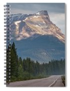 Icefields Parkway Banff National Park Spiral Notebook