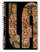 Iceland 1632 Spiral Notebook