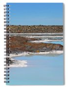 Iceland Blue Lagoon Lava Field Spiral Notebook