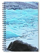 Iceland Glacier Bay Glacier Mountains Iceland 2 322018 1789.jpg Spiral Notebook