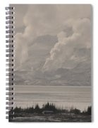 Smoke Rising Spiral Notebook
