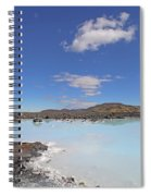 Iceland Popular Blue Lagoon  Spiral Notebook