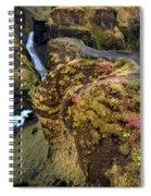 Icelandic Autumn Spiral Notebook