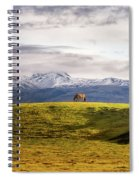 Icelandic Horses On The Countryside  Spiral Notebook